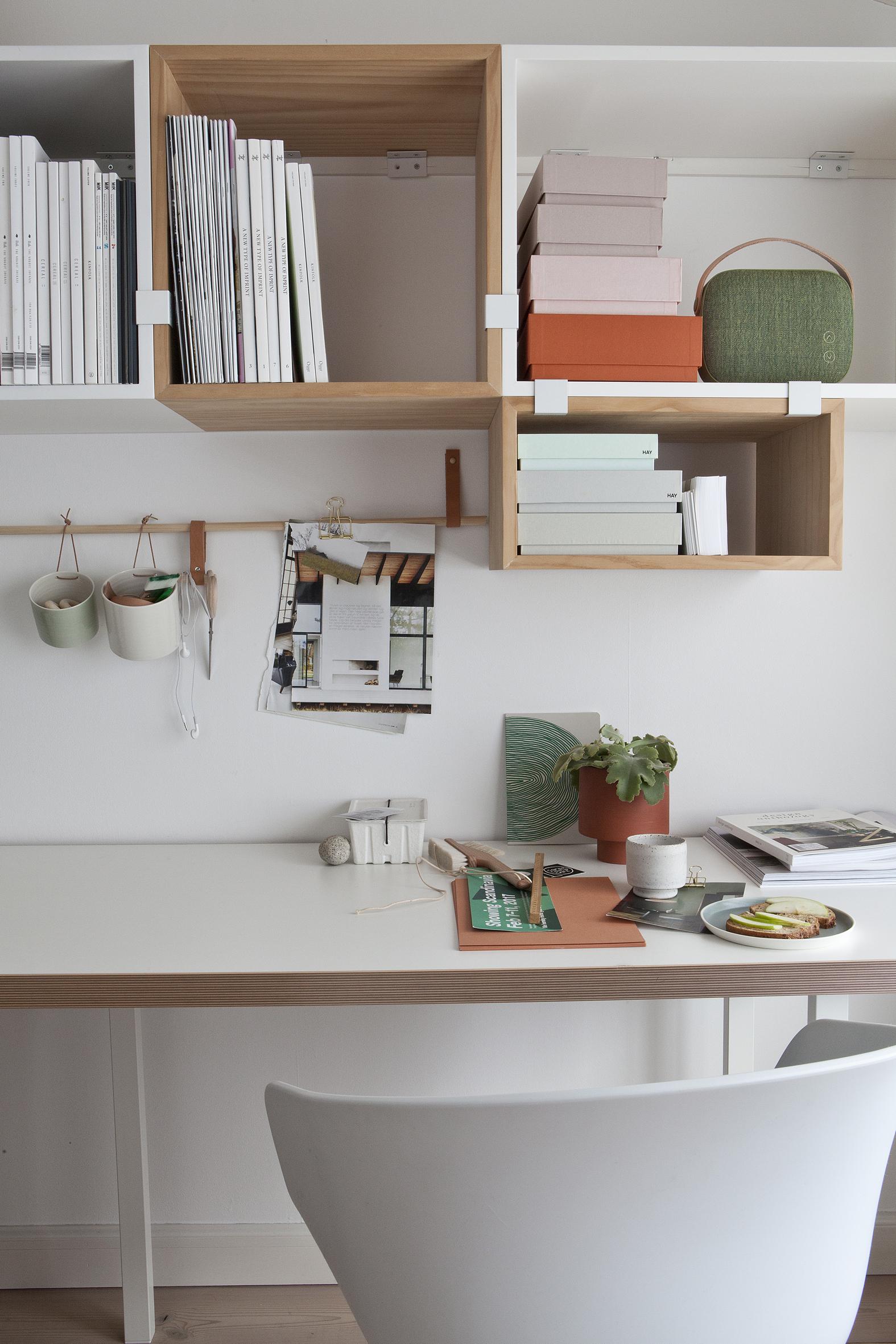 Hjemmekontor - Skandinavisk design - Interior - Homeoffice
