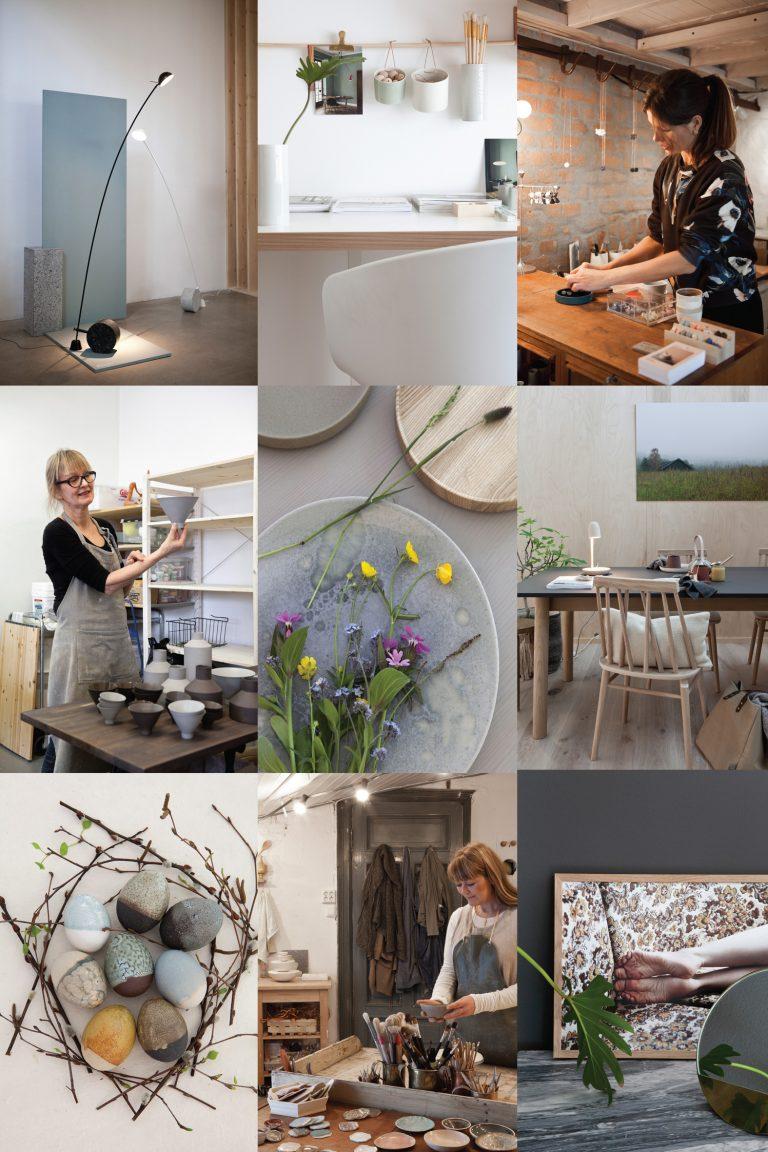 Norsk design - Kunsthåndverk - Sara Skotte - Guri Sandvik - Ragnhild Wiik